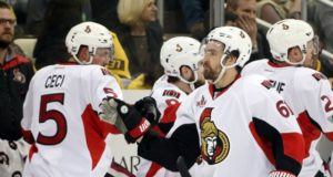 Multiple teams interested in Cody Ceci. Florida Panthers interest in Mark Stone may not have lasted long.