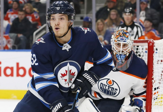 The Winnipeg Jets are rejecting Jack Roslovic offers. Things heating up with Edmonton Oilers goalie Cam Talbot.