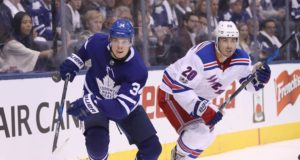 Toronto Maple Leafs have talked to the New York Rangers about Chris Kreider.