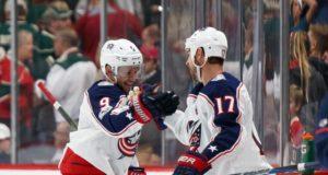 Artemi Panarin out with an illness. Brandon Dubinsky activated.