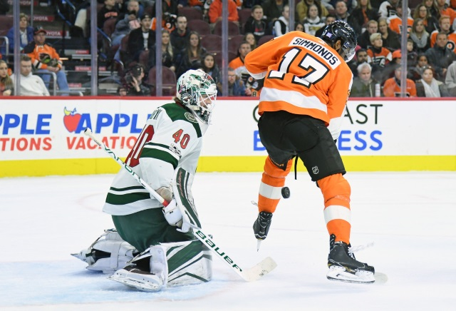Source telling Carchidi that Wayne Simmonds would consider signing back with the Philadelphia Flyers.