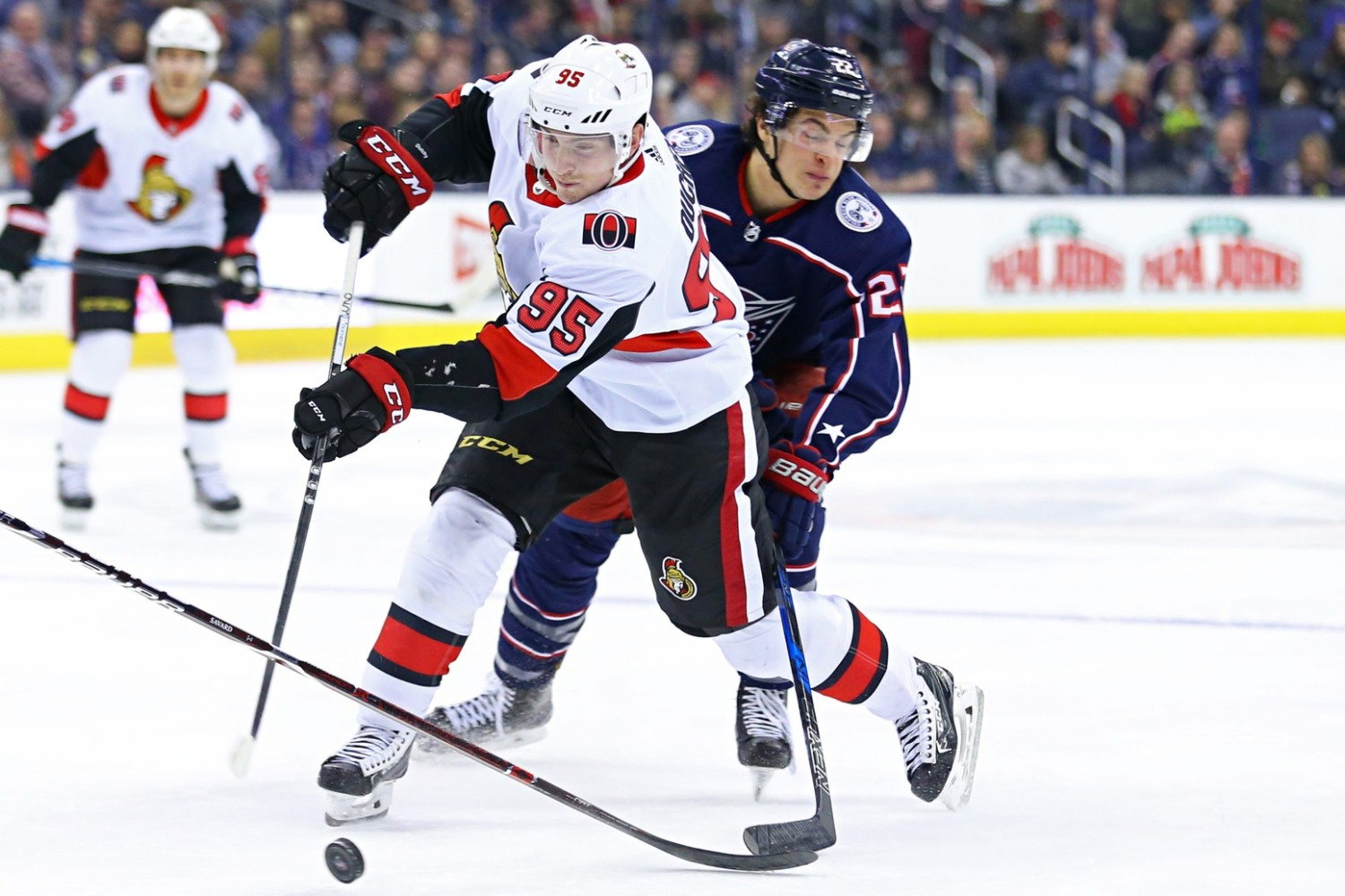 Senators trade centre Matt Duchene to Columbus for prospects, pick