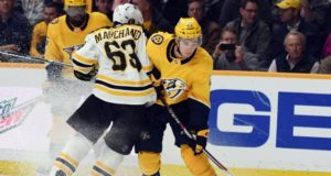 The Boston Bruins are looking for offensive help. The Nashville Predators could take a run at a big named player.