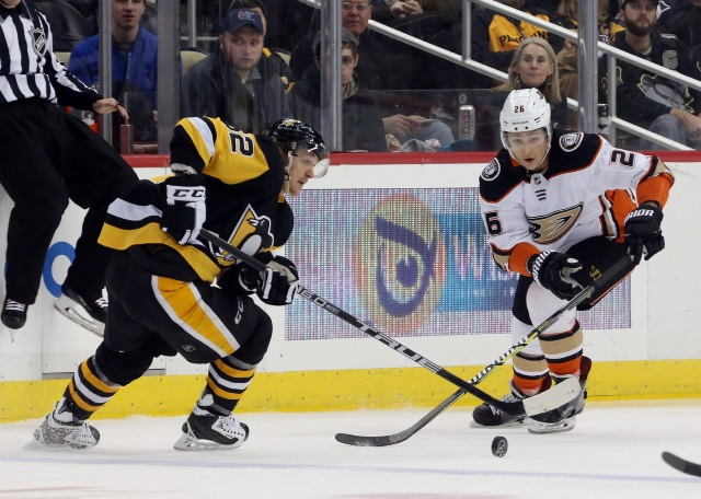 The Pittsburgh Penguins are looking for a defenseman after some injuries. Brandon Montour? Colin Miller?