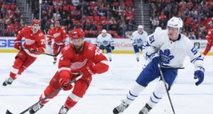 The Toronto Maple Leafs are kicking tires on Luke Glendening again.