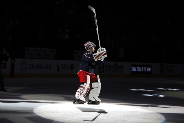 The Florida Panthers may be interested in trading for Columbus Blue Jackets Sergei Bobrovsky, Derick Brassard going the other way?