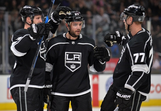 Los Angeles Kings Jeff Carter may be affected by trade talk. Dion Phaneuf unlikely to be traded.