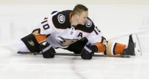 Ducks Corey Perry could return this weekend
