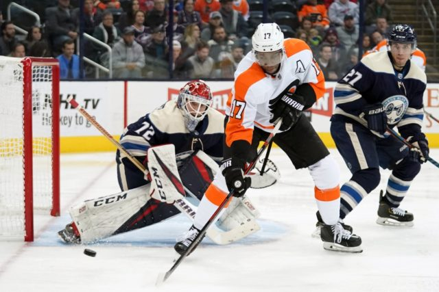 The Philadelphia Flyer would move Wayne Simmonds for the right price even if in the playoff race. The Columbus Blue Jackets and Florida Panthers are talking.