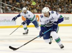 The Vancouver Canucks could look to move Brandon Sutter, but it may be more of an offseason move.