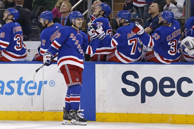 on sale 8839e 38147 NHL Rumors: New York Rangers — Kreider, Buchnevich, Hayes ...