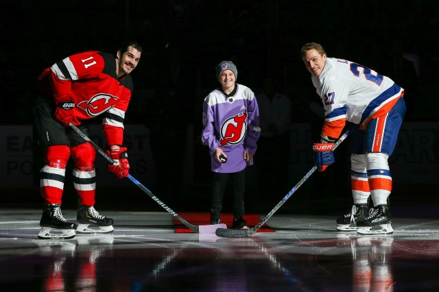 The New York Islanders have shown interest in Brian Boyle.