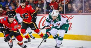 A Minnesota Wild - Calgary Flames trade involving Jason Zucker fell through.