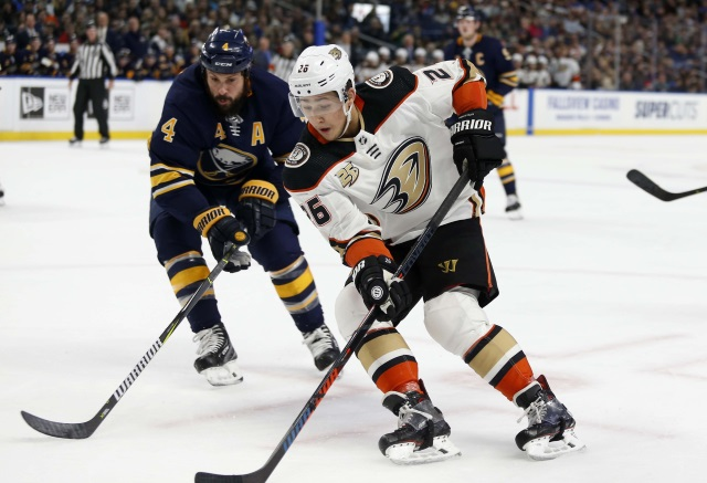 Anaheim Ducks Trade Brandon Montour To The Sabres
