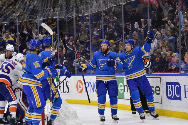The St. Louis Blues are one team that could be buyers now, but could end up being sellers before the NHL trade deadline.