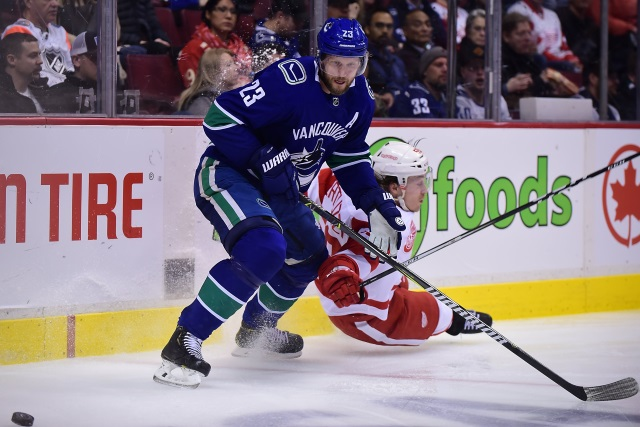 Alex Edler on the IR with a concussion.