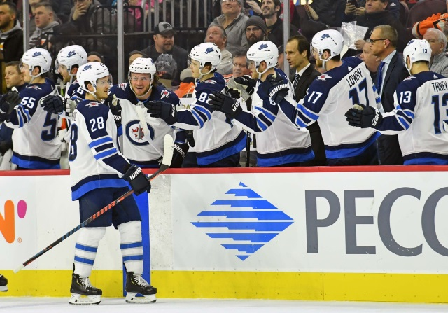 Nothing new on Patrik Laine. Jack Roslovic won't be with the Winnipeg Jets to start camp and the RFA has requested a trade.