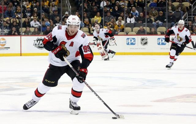 Matt Duchene's agent met face-to-face with the Ottawa Senators yesterday.