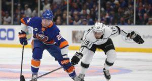 New York Islanders pending UFA Brock Nelson not stressing about deadline.