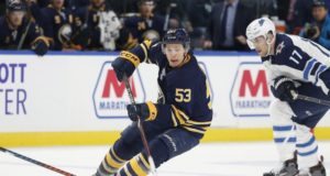 The NHL trade deadline is not a factor for the Buffalo Sabres and Jeff Skinner.