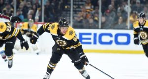 Boston Bruins David Pastrnak out at least two weeks.