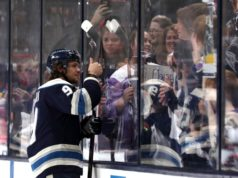 Columbus Blue Jackets GM waiting for trade offers to come in for Artemi Panarin and Sergei Bobrovsky.