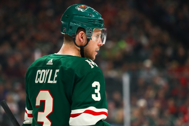 The Buffalo Sabres could have their eye on Minnesota Wild Charlie Coyle.