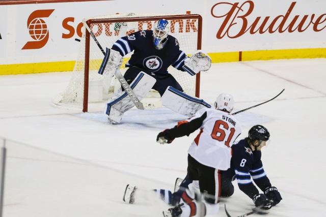 separation shoes a7055 f19f0 NHL Rumors: Ottawa Senators - Extension Talk For Stone ...