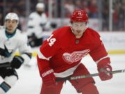 The Detroit Red Wings have trades forward Gustav Nyquist to the San Jose Sharks for a 2019 second round pick and a conditional 2020 third round pick.