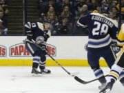 The Columbus Blue Jackets are hoping their trade deadline acquisitions boost them up the NHL standings.