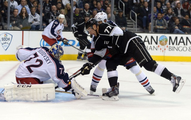 Jeff Carter and Sergei Bobrovsky are two players who could be moved at the NHL trade deadline.