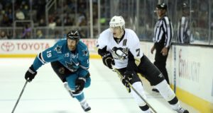 Evgeni Malkin to have a hearing today. Joe Thornton moves up the all-time games played and assist list.
