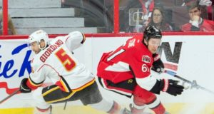 The Calgary Flames are find the asking price for Mark Stone ridiculously high.