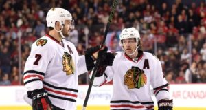 There is speculation that the Chicago Blackhawks could move one of Duncan Keith or Brent Seabrook, but either move may not be easy to make.