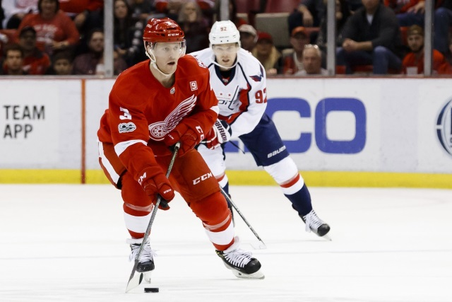 Rebuilding Red Wings send pending free agent Jensen to Capitals for Bowey