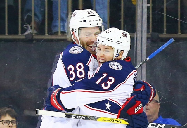 The Blue Jackets lose Boone Jenner and Cam Atkinson.