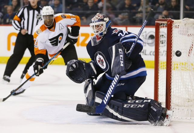 The Winnipeg Jets thought they were close on Wayne Simmonds.