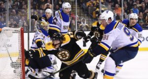 Vladimir Tarasenko out day-to-day. Injury updates on the Boston Bruins and St. Louis Blues.