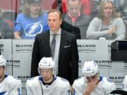 Jon Cooper still doesn't have a contract extension in place for next season with the Tampa Bay Lightning.