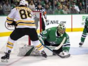 David Pastrnak a game-time decision. Ben Bishop will dress, not sure if starting or as a backup.