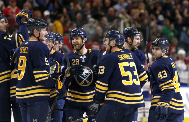 The Buffalo Sabres need to improve on their depth up front and on the blueline.