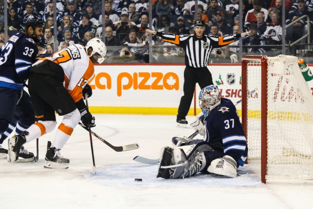 A Wayne Simmonds to the Winnipeg Jets deal just before the deadline may not have been as close as once thought.