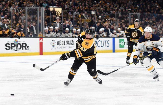 Boston Bruins defenseman Torey Krug may be too good for his own good.