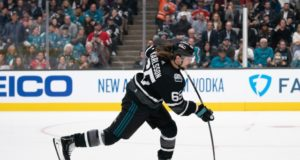 The San Jose Sharks cut Erik Karlsson's skating back.