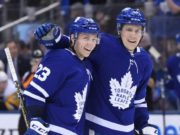 The Toronto Maple Leafs didn't add any depth at the trade deadline, and injuries to Travis Dermott and Jake Gardiner leave them a little thin.