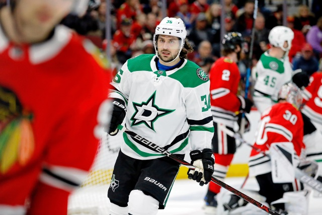 The Dallas Stars won't hold any contract extension talks with Mats Zuccarello until after the season.