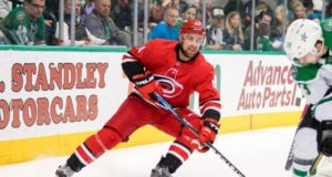 Carolina Hurricanes Calvin de Haan has an eye injury and is out indefinitely.
