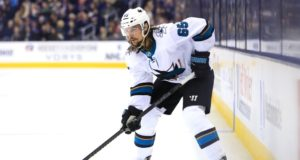 Erik Karlsson participated in full practice on Wednesday.