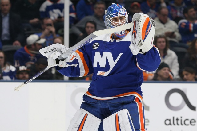 Robin Lehner knows the money is coming just how much. Also. a little more on Jack Hughes and Steve Yzerman.