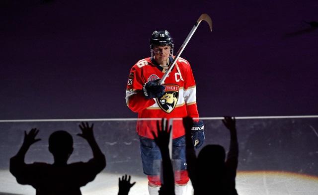 Aleksander Barkov of the Florida Panthers